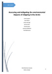 Assessing and mitigating the environmental impacts of shipping in the Arctic by Lilitha Pongolini, Jonas Pålsson, Jennie Folkunger, Jennie Larsson, Anne Bouyssou, Lawrence Hildebrand, and Neil Bellefontaine