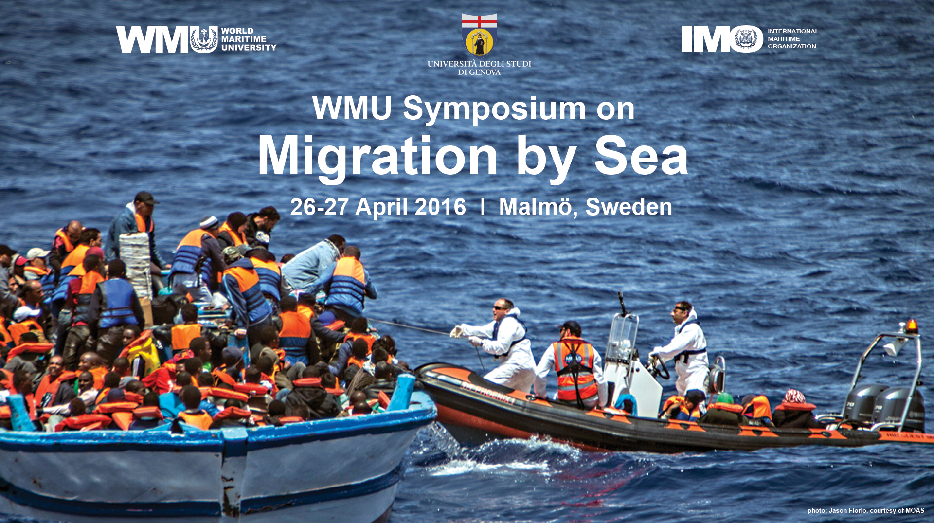 WMU Symposium on Migration by Sea, Malmö, Sweden, 26-27 April 2016
