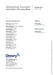 Shipping Insight - December 2011 by Drewry Shipping Consultants