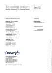 Shipping Insight - August 2012 by Drewry Shipping Consultants