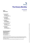 The Drewry Monthly - November 2005 by Drewry Shipping Consultants