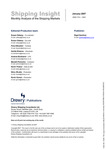 Shipping Insight - January 2007 by Drewry Shipping Consultants