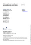 Shipping Insight - March 2007 by Drewry Shipping Consultants