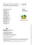 Shipping Insight - December 2007 by Drewry Shipping Consultants