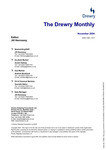 The Drewry Monthly - November 2004