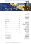 Shipping Insight - January 2019 by Drewry Maritime Research