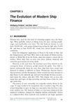 Chapter 5 - The Evolution of Modern Ship Finance