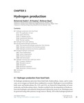 Chapter 3 - Hydrogen production
