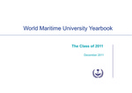 World Maritime University Yearbook: The Class of 2011