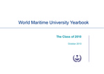 World Maritime University Yearbook: The Class of 2010