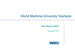 World Maritime University Yearbook: The Class of 2017